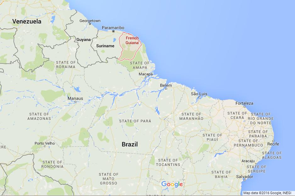 French-Guiana-map
